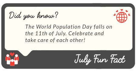 July 2016  fun facts