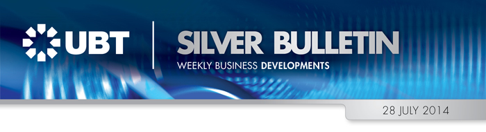 UBT Silver Bulletin 28 July 2014