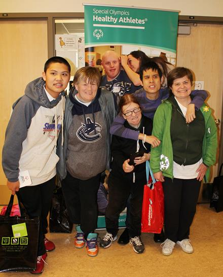 Special Olympics BC Healthy Athletes Screening Day Vancouver 2015