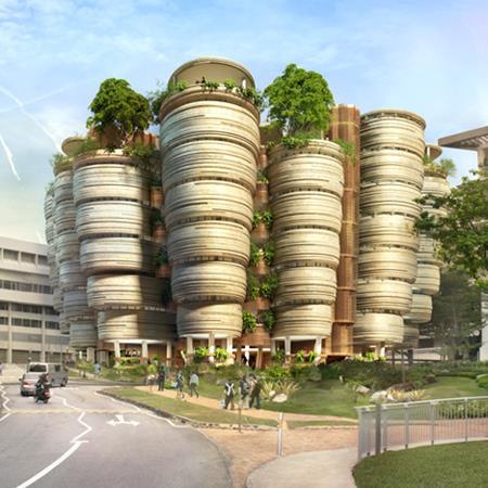 Learning Hub at Nanyang Technology University by Thomas Heatherwick