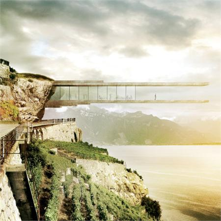 Wine&#32;Museum&#32;in&#32;Lavaux&#32;by&#32;Mauro&#32;Turin&#32;Architectes