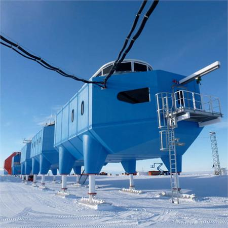 World's first mobile research centre opens in Antarctica