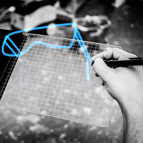 """Gravity tablet makes 3D drawing """"as easy as doodling on a piece of paper"""""""