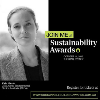Architecture and Design Sustainability Awards 2018
