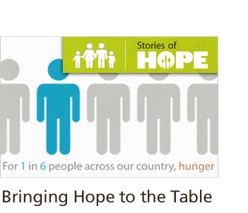 Bringing Hope to the Table