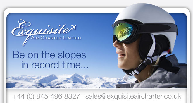 Exquisite Air Charter - Be on the slopes in record time...