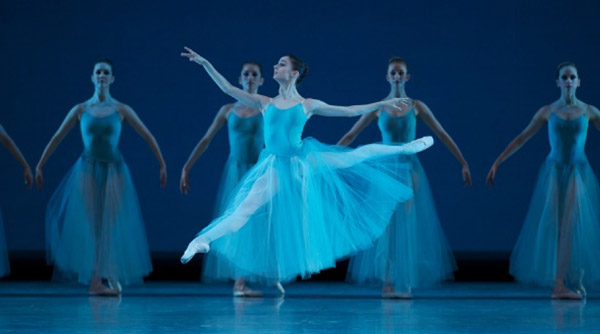 San Francisco Ballet: Bright Fast Cool Blue