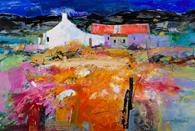 Carolyn Rockwood, Tweed Shed, Late Summer, Harris.