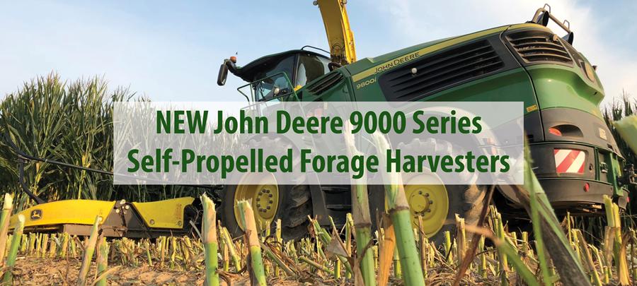 The New John Deere 9000 Series Self-Propelled Forage Harvester is HERE!