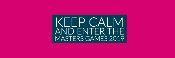 Enter the Masters Games 2019 - entries close tomorrow