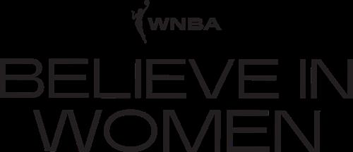 WNBA Believe in Women logo
