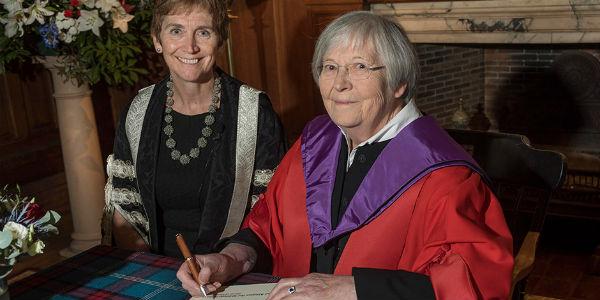 Rev Dr Margaret Forrester