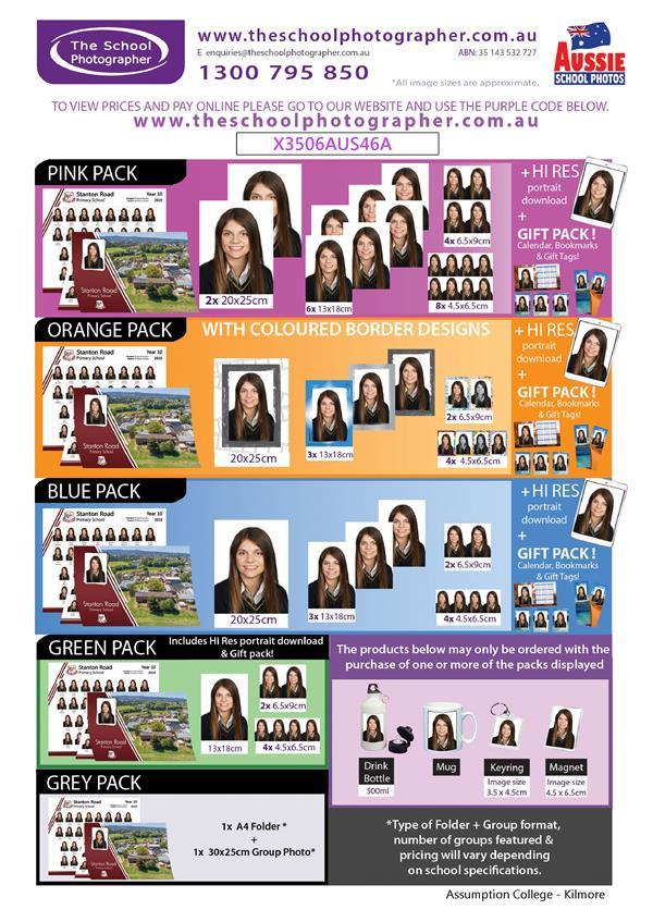School Photos Flyer