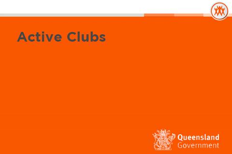 Active Clubs Funding Now Open