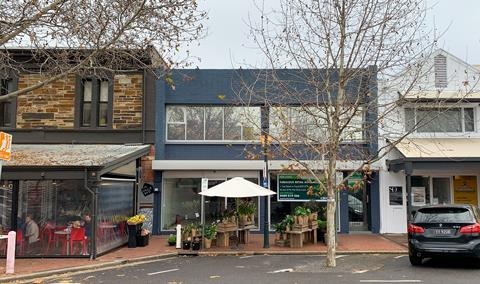 Vacant store on Hutt Street that Renew Adelaide are hoping to fill