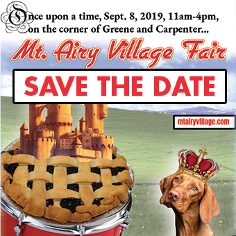 Mt. Airy Village Fair — Save the Date
