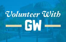 Volunteer with GW
