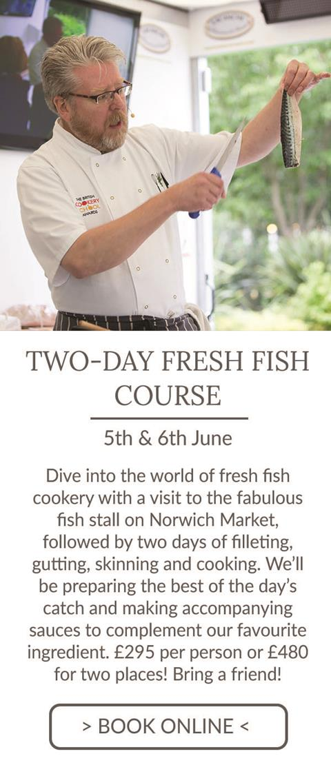 2-day fresh fish course