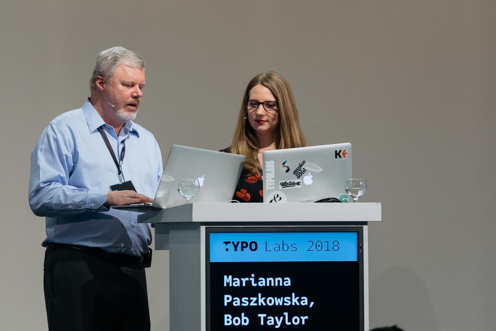 Marianna Paszkowska & Bob Taylor
