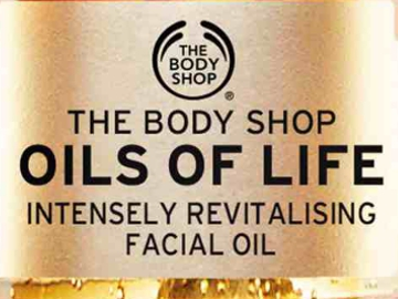 Oils of Life. © The Body Shop.