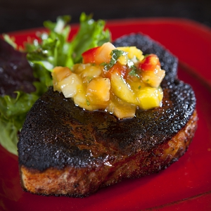 Grilled Swordfish with Tropical Fruit Salsa