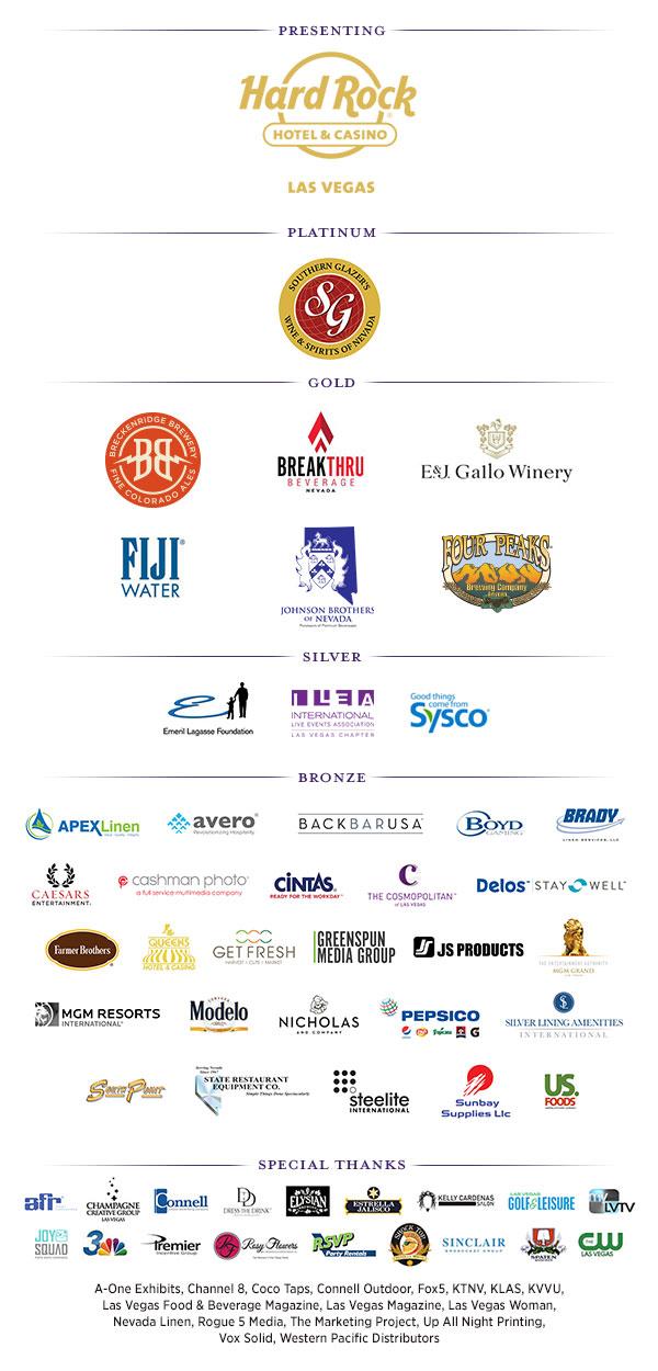 M.E.N.U.S. 2017 Sponsors