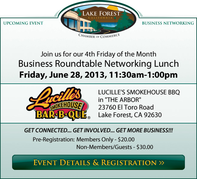 Business Roundtable Networking Lunch