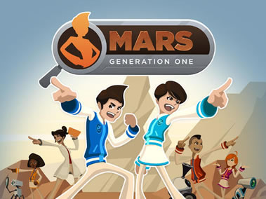 Screenshot from Mars Generation One: Argubot Academy