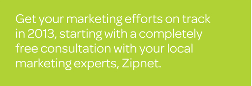 Free marketing consultation with Zipnet