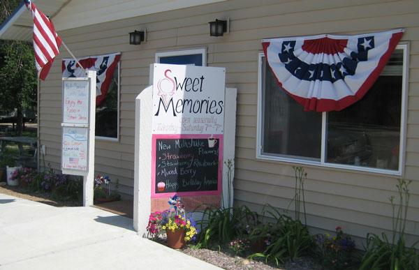 Sweet Memories in Hinsdale, MT