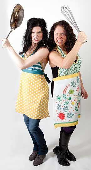 Danielle and Jen