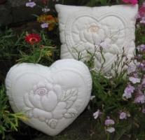 Summer Rose Stitchery kit by Sylvia Critcher