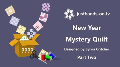 Mystery Quilt with Sylvia Critcher - Part 2