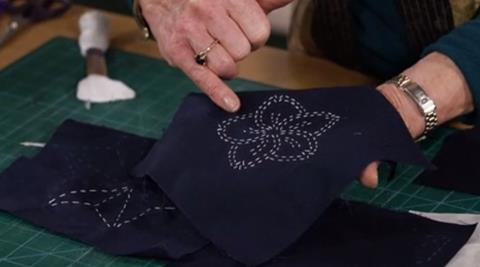 Sashiko (Japanese Embroidery) with Jennie Rayment