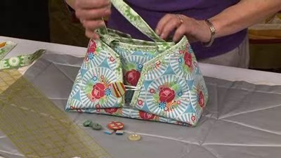 Iron Caddy Tote with Valerie Nesbitt