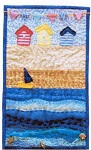 By The Seaside Miniature quilt Kit by Julia Gahagan