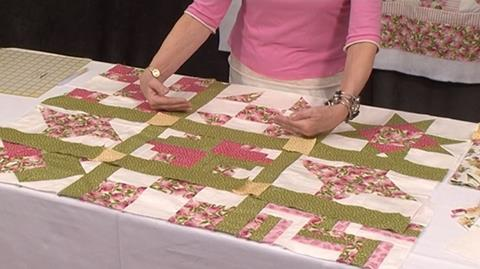 Sashing for Your First Sampler Quilt with Valerie Nesbitt