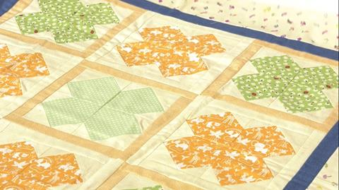 Peyton Quilt from Fat Quarter Baby Book with Valerie Nesbitt