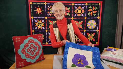 Clamshell patchwork with Jennie Rayment