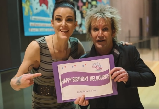 Download your Melbourne Day selfie birthday poster