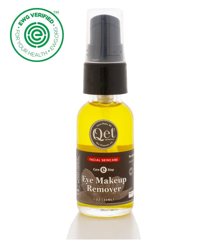Qēt Botanicals eye makeup remover