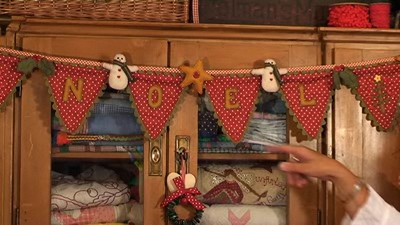 Festive bunting with Mandy Shaw