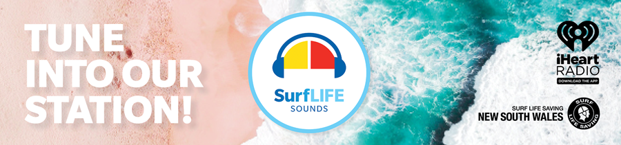 Tune into SurfLIFE Sounds!