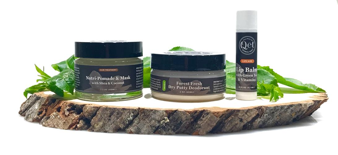 Qēt Botanicals summer favorite natural products