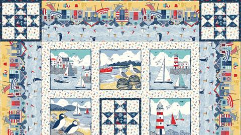 Sail Away Quilt with Valerie Nesbitt