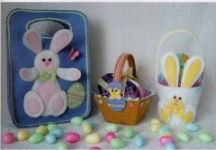 Easter Bag trio