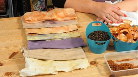 Dyeing with a slow cooker with Angela Daymond