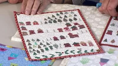 Miniature Quilts with Julia Gahagan