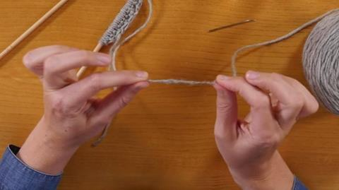 Spit Splicing Knitting Tip from Rosee Woodland