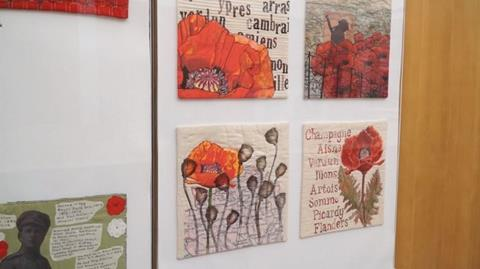 Remembering WWI with the London Quilters